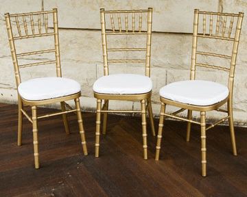Tiffany Chairs by Event Tents